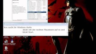 Problemlösung - Ton auf Windows funktioniert nicht mehr Tutorial