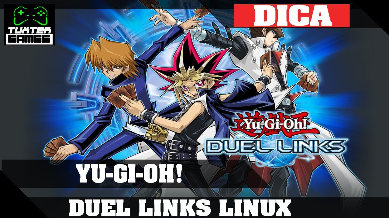 Yu-GI-OH! Duel Links Steam Version no Linux Via Playonlinux/Wine