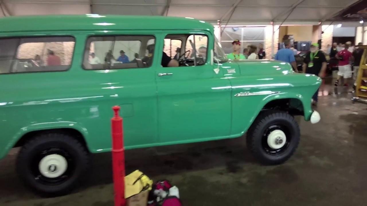 1955 Chevrolet Suburban Napco - YouTube