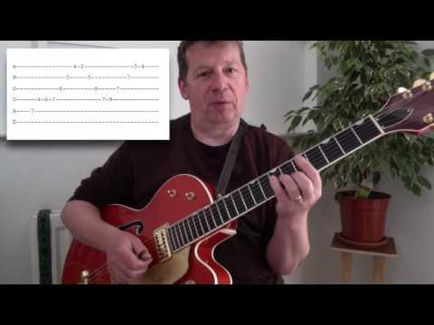 Mr Sandman intro (tutorial by Matt Cowe)