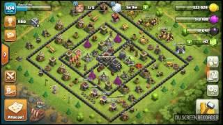 Layout anti pt cv 9 clash of clans war