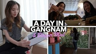 Trying New Restaurants and Cafes in Gangnam + Blogger Mail!