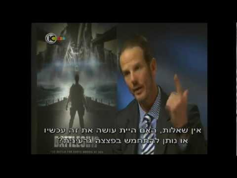 """Join the IDF, motherf@cker!""-""Battleship"" Director, Peter Berg to Israeli journalist."