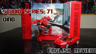 Video Review For Studio Series 71 - Dino