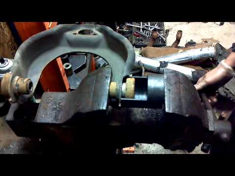 Vanagon Upper Control Arm Bushing Replacement - YouTube