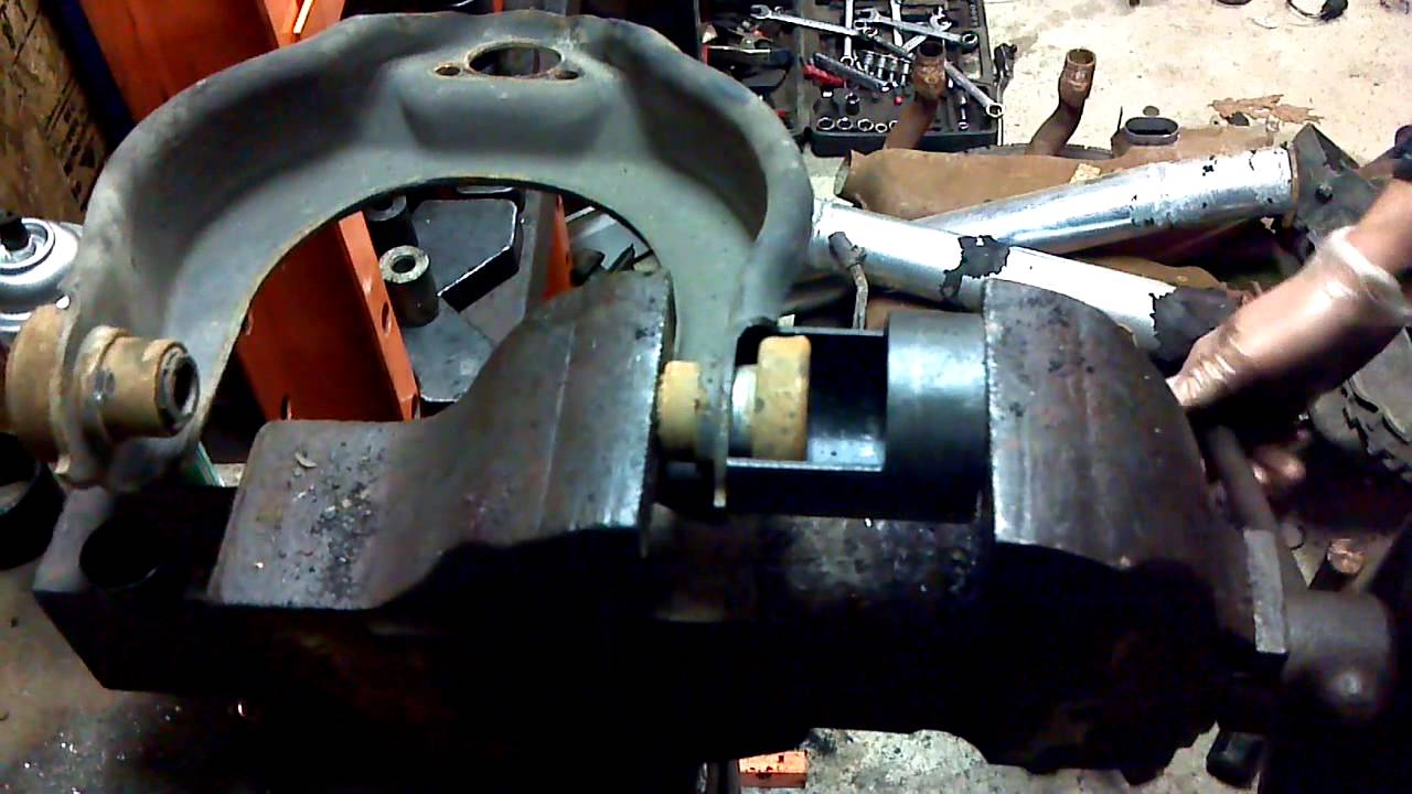 Vanagon Upper Control Arm Bushing Replacement