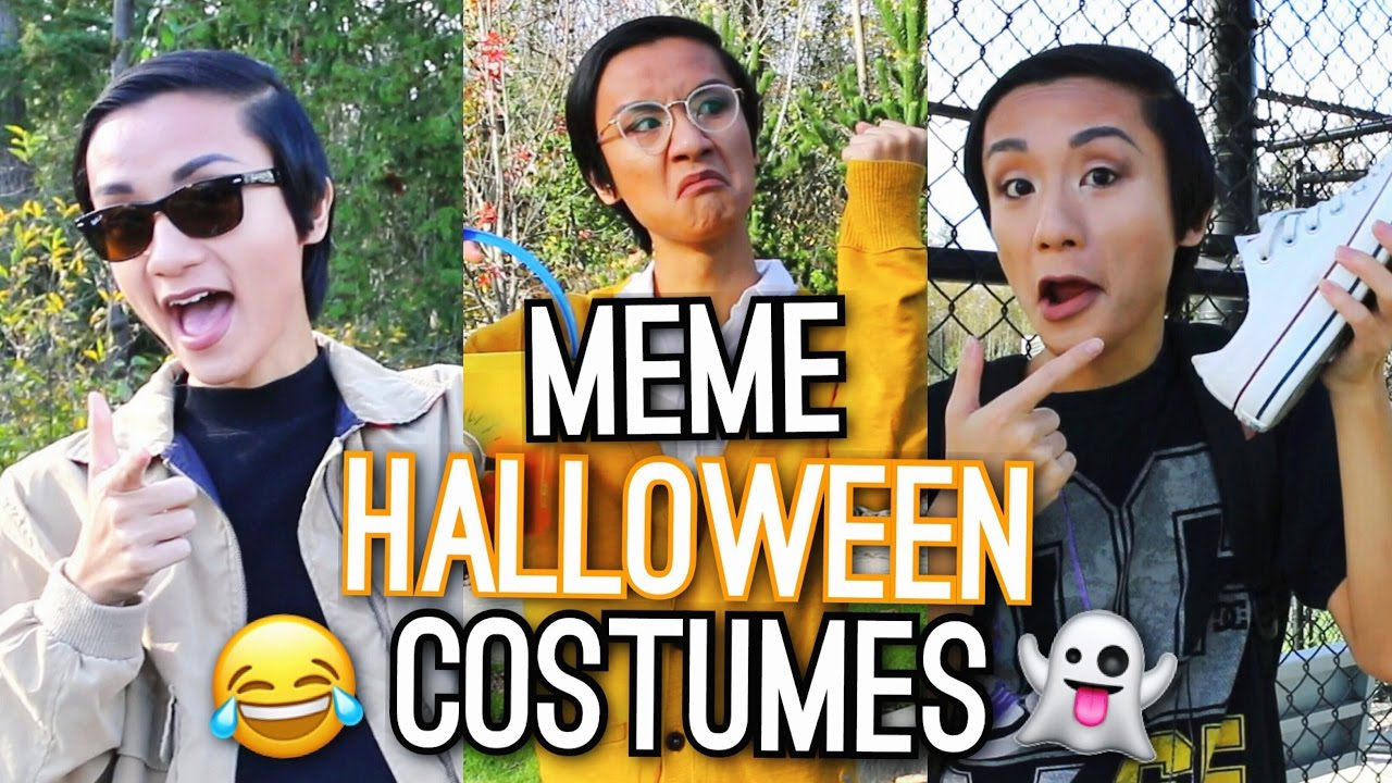 last minute halloween costume ideas meme inspired youtube