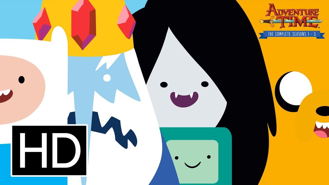 Adventure Time Season 1-10 Complete BluRay & WEB-DL 720p