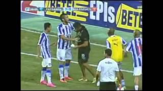 Gol de Betinho, Paysandu 3 x 0 Boa Esporte 05/09/2015, Brasileiro Série B 2015