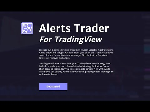Using Alerts Trader For Tradingview To Trigger Buy & Sell Orders On Bitcoin Exchanges 2.28.2019