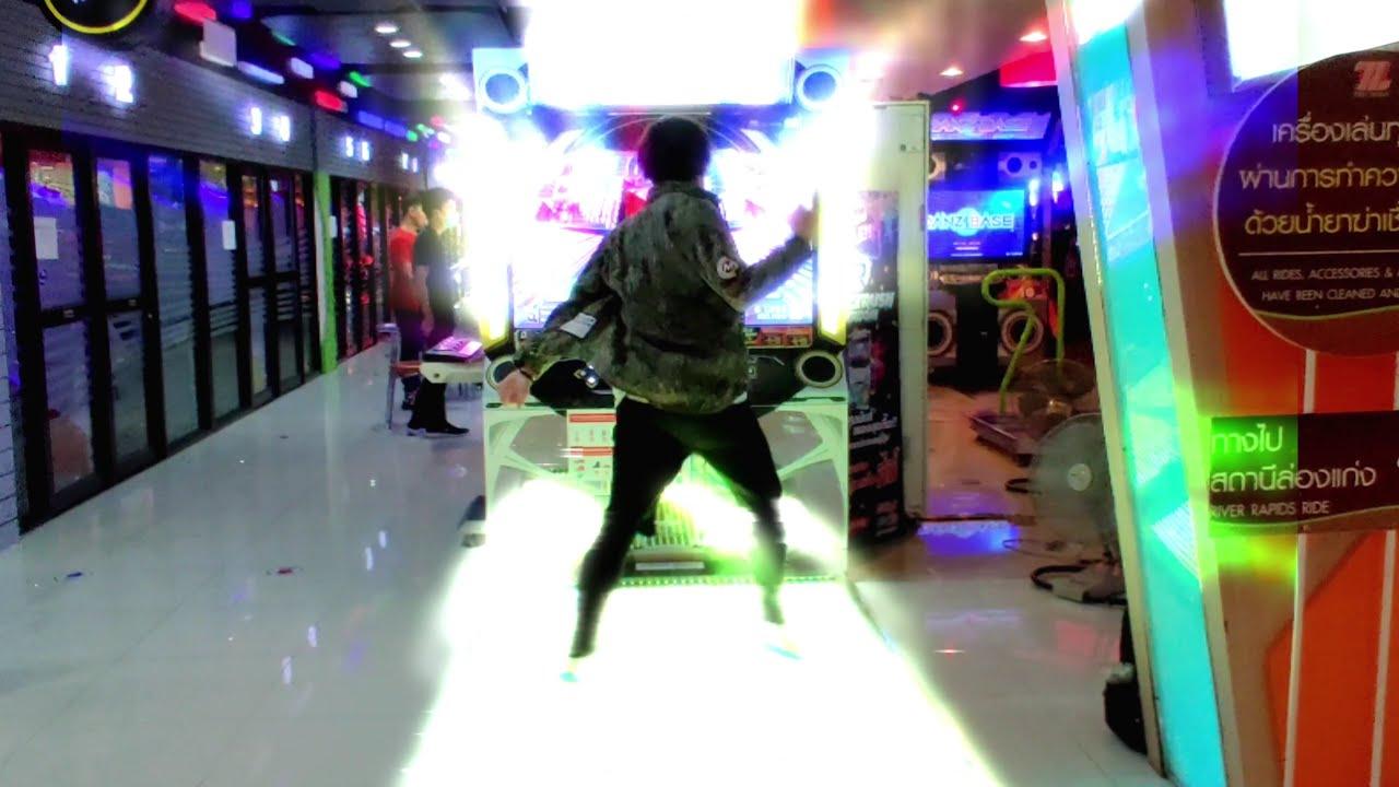 LIGHT THE F**KING PAD UP !!! Dancerush - Raise Your Hand [4K] [#DANCERUSH_THAILAND] #ダンスラ #削除曲