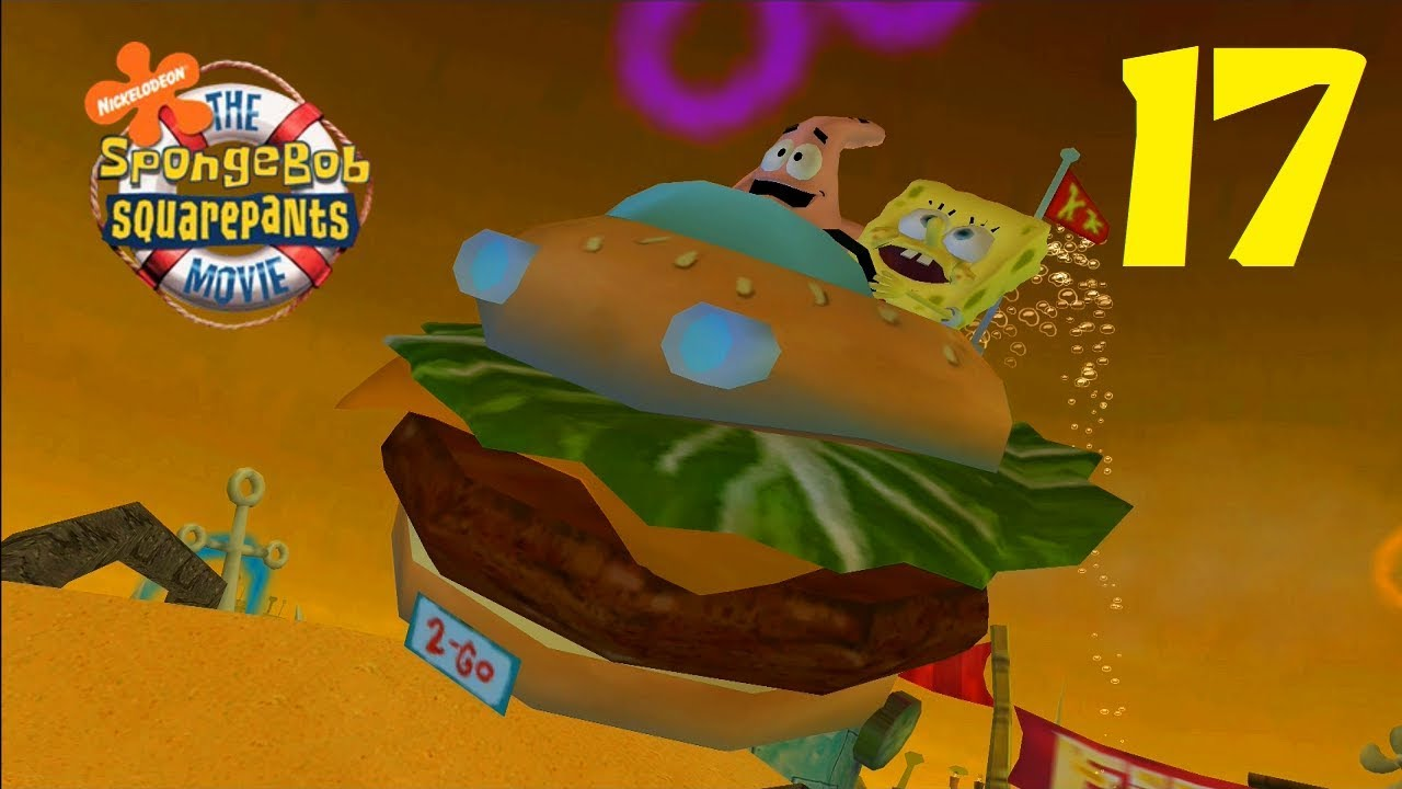 SpongeBob Movie Game - Part 17 (Drive of the Knucklehead