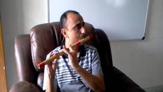 Tumhe geeton mein dhalunga Sawan Ko Aane Do - Flute attempt