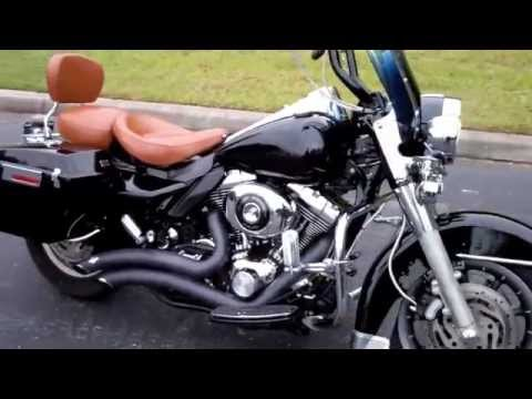 2006 HARLEY FLHP POLICE ROAD KING FOR SALE IN TAMPA SPRING HILL PLANT CITY FLORIDA