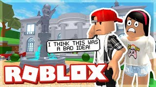 WE ROBBED A MANSION AND STOLE ALL THE ROBUX - ROB THE MANSION OBBY