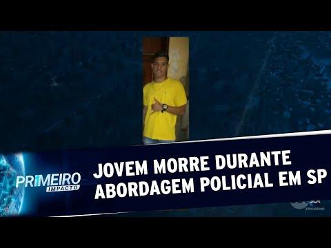 Adolescente De 16 Anos Morre Durante Abordagem Policial Em São Paulo | Primeiro Impacto (26/05/20)