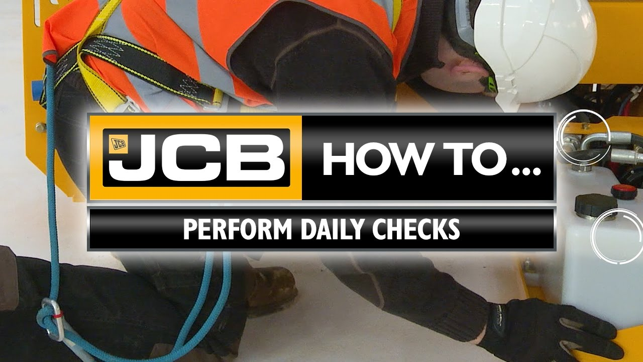 JCB Access - How to Daily Checks