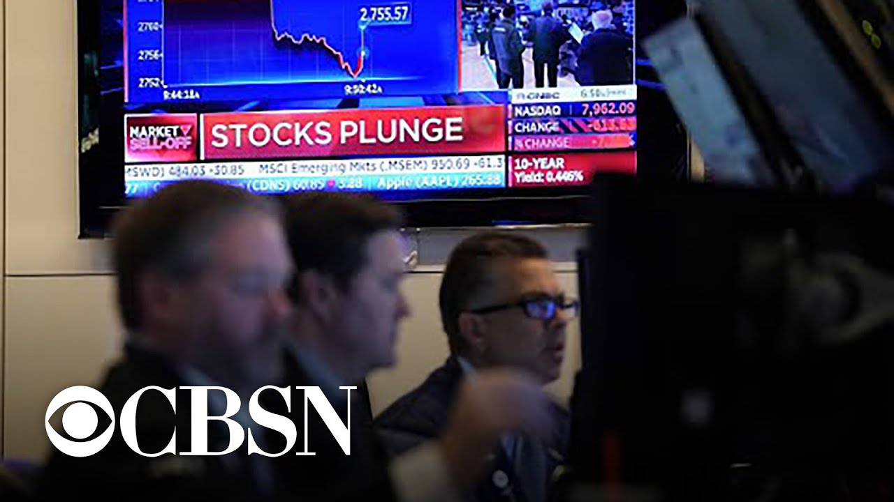 Stock prices fall again in volatile week on Wall Street