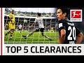 Makoto Hasebe (長谷部 誠) - Top 5 Goal-Line Clearances