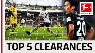 Makoto Hasebe (長谷部 誠) - Top 5 Goal-Line Clearances