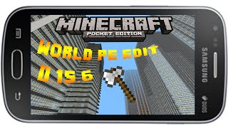 MCPE 0.15.6-(MOD WORLD PE EDIT) COMO CONSTRUIR MAIS RAPIDO NO SEU MCPE 《The End 》