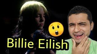 Billie Eilish CANTANDO EN VIVO - No Time To Die (Live From The BRIT Awards, London)  | REACCIÓN