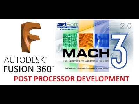 Mach3 Milling Post Processor for Fusion360 - Edit Your Own Post