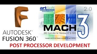 Mach3 Milling Post Processor For Fusion360   Edit Your Own Post