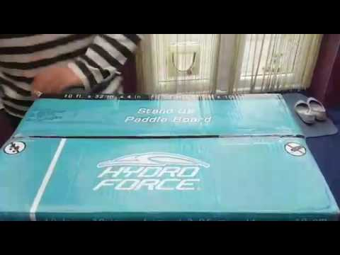 Vlog #38 Unboxing the Hydro Force SUP from Tesco Direct
