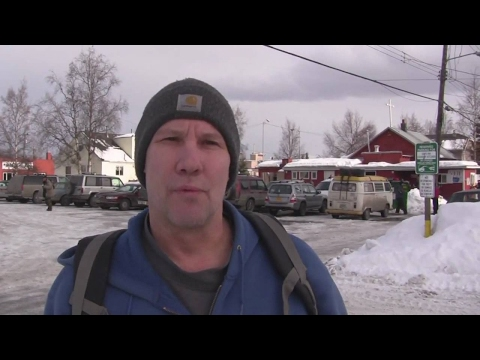 Homeless Man in Anchorage, Alaska Hoping Spring Will Bring More Jobs