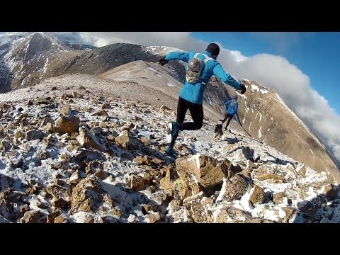 Running at 14,000 feet: Central Colorado Mosquito Range