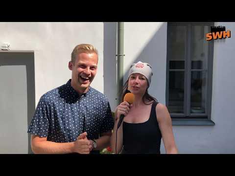 Oskars Lepers un Inese Vaikule - Radio SWH reportāžas no Talsu pilsētas svētkiem (06.07.2019.)
