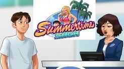 Summertime Saga Getting car fixed