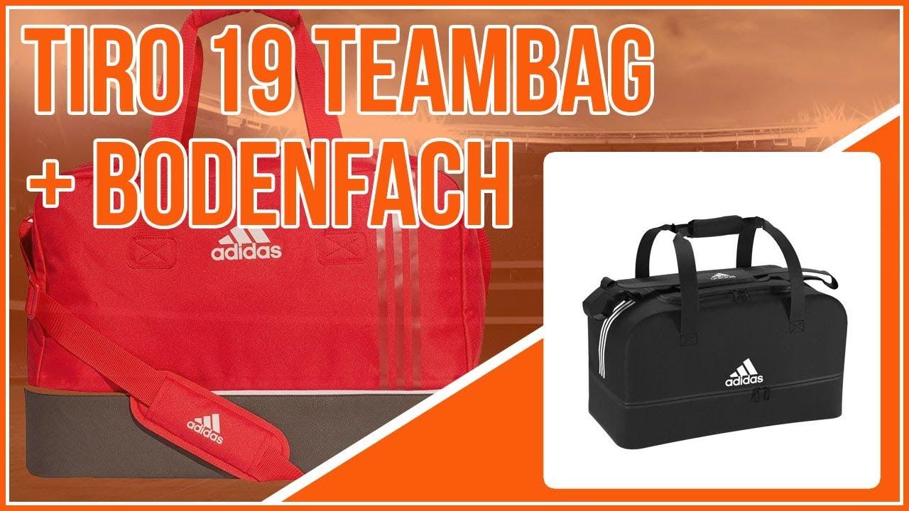 adidas Tiro 19 Teambag mit Bodenfach (die Sporttasche) - YouTube e524c30a51e04