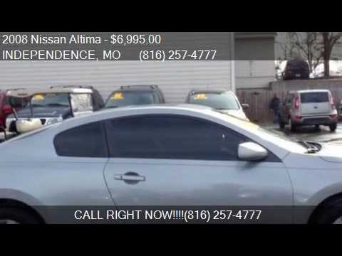 2008 nissan altima 2 5s for sale in independence mo 64050 a youtube. Black Bedroom Furniture Sets. Home Design Ideas