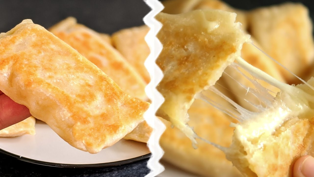 Crêpes au fromage avec 3 ingrédients / RECIPE French CREPES WITH CHEESE / كريب بالجبن مع 3 مكونات