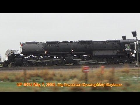 UP 4014 Big Boy Across Wyoming part 1