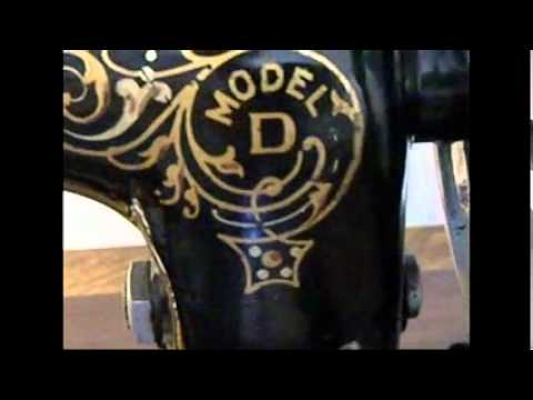 Minnesota D Handcrank Sewing Machine Antique 40 YouTube Inspiration Davis Sewing Machine Models