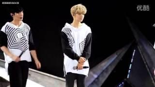 [FANCAM] 140802 TLP in Xi'An - Kai forgot to zip his pants