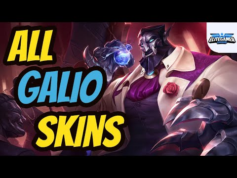 All Galio Skins Spotlight League of Legends Skin Review