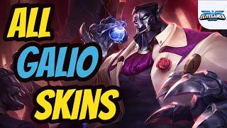 All Galio Skins Spotlight League of Legends Skin Review