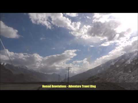 250 KM in 4 minutes, Off the Pamir Highway Tajikistan, Driving to Ishkashim along Afghanistan border