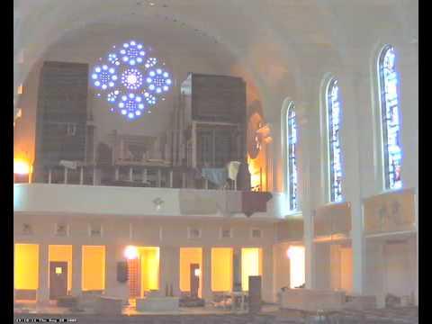 Madonna della Strada Organ Installed