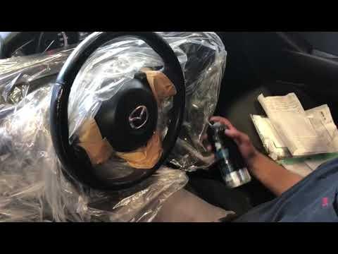 הגה עור שחוק ולא נעים למגע, חידוש הגה עם ציפוי ויניל מקצועי