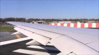 LaGuardia Airport Takeoff on United (Watch in HD!)