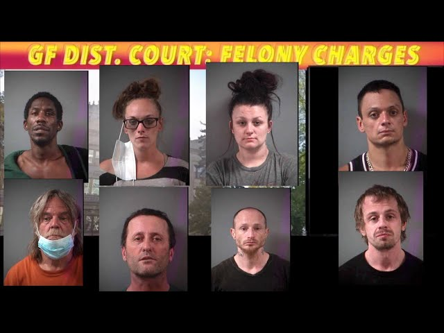 Recent Felony Charges In Grand Forks District Court