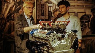 Limone Tells: the truth behind Alfa 155 V6 Ti engine + 156 and Fulvia Concept - Davide Cironi (SUBS)