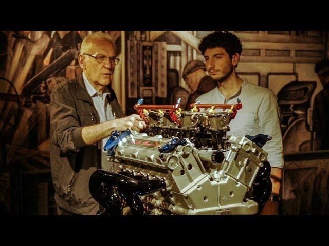 Limone Racconta: La verità sul motore Alfa 155 V6 Ti + 156 e Fulvia Concept - Davide Cironi (SUBS)