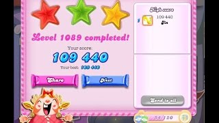 Candy Crush Saga Level 1089    ★★★   NO BOOSTER