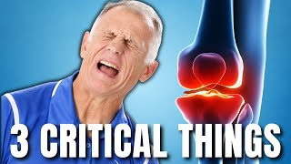 Knee Pain? Top 3 Critical Things You Need to Do NOW. Treatments & Exercises.